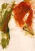 Tänzerin - Acryl auf Papier 50 x 70 cm