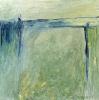 Brücke - Öl auf Leinwand 80 x 80 cm