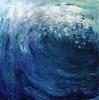 Welle - Öl auf Leinwand 80 x 80 cm