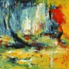 Schiff - Öl auf Leinwand 80 x 80 cm