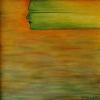 Muse - Öl auf Leinwand 80 x 80 cm