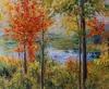 Herbst - Öl auf Leinwand 100 x 120 cm