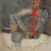 Dampfer - Öl auf Leinwand 80 x 80 cm