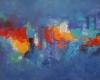 Farbenspiel - Öl auf Leinwand 80 x 100 cm