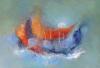 gerettet - Öl auf Leinwand 70 x 100 cm