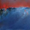 Landschaft - Öl auf Leinwand 80 x 80 cm