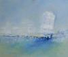 blaue Landschaft - Öl auf Leinwand 100 x 120 cm