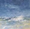 Welle 2 - Öl auf Leinwand 40 x 40 cm